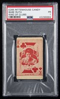 1933 E285 Rittenhouse Candy Babe Ruth King of Clubs.