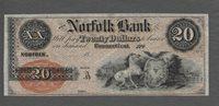 $20 Connecticut 18 Norfolk CH CU $440