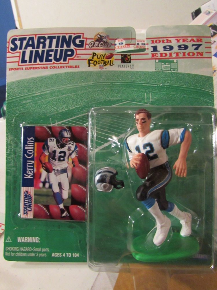 Starting Lineup Carolina Panthers Kerry Collins #12