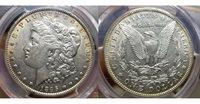 1895 O $1 Morgan Silver Dollar PCGS AU55