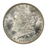 1884-O $1 Morgan Dollar PCGS MS67+ (CAC) #3045-8