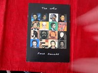 WHO~ FACE DANCES~ POST CARD~ RARE~ 1981~ FROM W.B. ~NEAR MINT ~COLLECTABLES