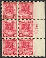 United StatesScott #645 (2013 Scott Value $37.50), Unused, NH, Fine. 2c Valley Forge (#645) plt blk6.Stamp #1549 | Price: $16.00Add To Cart