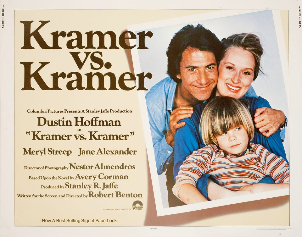 Resultado de imagen de kramer vs kramer poster