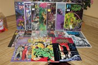 Comic Book Lot Various Barb Wire Lost Planet Scarlet Witch Ultraverse Time Force