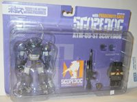 1/35 Scopedogs ATM 09 Scopedog with Parachute Pack Armored Trooper Votoms MIP