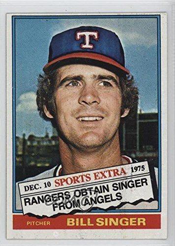 Bill Singer Baseball Card 1976 Topps Traded 411t