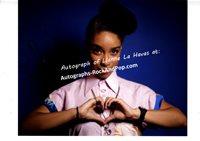 LIanne La Havas - autographed promo #2299