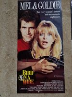 GOLDIE MEL GIBSON BIRD ON A WIRE Original vintage size MOVIE poster Australian