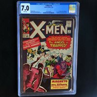 X-MEN #5 (1964)  CGC 7.0 White Pgs  3rd App of MAGNETO! 2nd Scarlet Witch