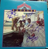Four Tops Catfish Album Signed by all 4