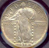1918/7-S 25c PCGS MS63