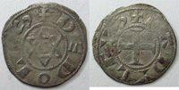 Denier, denar, denario, denarius Berri, Comté de déols, Raoul Vi 1160 1176, Denier, 0 83 grammes, Bd 278 Ttb