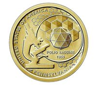 New US 1 Dollar coin USA $1, American Innovation Pennsylvania, UNC, Mint, 2019