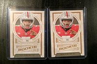 2019 Legacy Football Rookie Cards Dwayne Haskins Washington 2 cards total