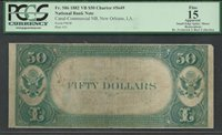 $50 1882-VB FR.586 FIFTY DOLLAR VALUE BACK -ULTIMATELY RARE PCGS-15