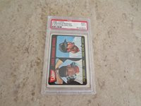 1965 Topps Steve Carlton rookie PSA 3 vg baseball card in affordable condition! Beautiful color but small crease.