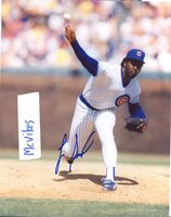 Lee Smith Chicago Cubs Autographed Signed 8x10 Photo COA #2 HOF