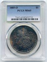 1885-O $1 MS65 PCGS