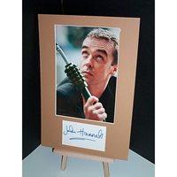 HANNAH John Signed Display UACC COA