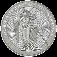 5 Mark Germania 1 oz Silver Brilliant Uncirculated 2019