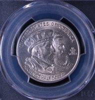 1924 50C Huguenot Commemorative Half Dollar Uncirculated PCGS MS 64 81725011