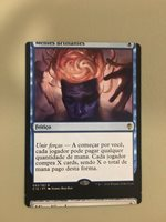 MTG Magic Miscut Misprint Oddities Minds Aglow Commander 2016 FBB NM