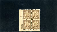 United States 1930 Scott# 685 plate Block NH