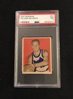 1948 Bowman William Red Holzman Rookie RC PSA 7