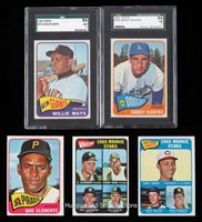 1965 Topps Baseball Near Set (581/598) with (4) Graded Including SGC 84 NM 7 Koufax & Mays