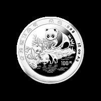 1994 12 oz Silver Panda Proof Coin