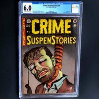 CRIME SUSPENSTORIES #20 (EC 1953)  CGC 6.0  CLASSIC PCH COVER! USED IN SOTI