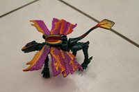 """Transformers Dragon with Colorful Dragon wings 5 3/4"""""""
