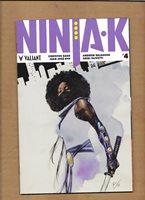 NINJA-K #4 DE LA TORRE INCENTIVE VARIANT COVER VALIANT COMICS