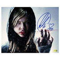 Chloë Grace Moretz Autographed 8×10 Let Me In Winter Blood Photo