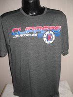 NBA Los Angeles Clippers Basketball Dri Fit Cool Workout Practice Shirt Majestic