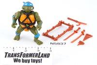 Complete Teenage Mutant Ninja Turtles (TMNT)® Original Toyline Basic Figures Leonardo