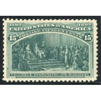US 238 Early Commemoratives XF NH
