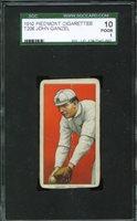 1909-11 T206 JOHN GANZEL Rochester SGC 10 JU18