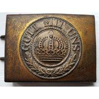 WW1 Imperial German Brass Enlisted Man's Belt Buckle
