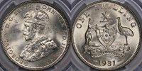 1931 Shilling - PCGS MS65 1931 Shilling