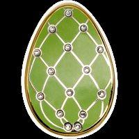 Imperial eggs in Cloisonné technique