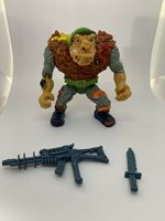 Vintage 80s TNMT GENERAL TRAGG action Figure With Accessories Fast Free Shipping