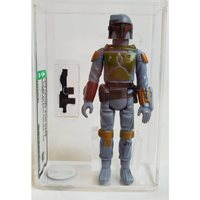 1979 Vintage Star Wars Loose Boba Fett Action Figure AFA 85 NM+ #13740790