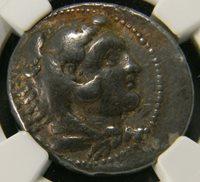 Macedon 336 323 BC Tetradrachm coin NGC F