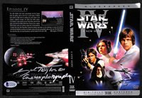 GIL TAYLOR STAR WARS DVD 1977 CINEMATOGRAPHER AUTOGRAPH SIGNED BECKETT BAS RARE!