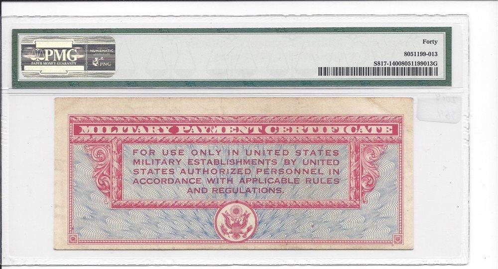 MPC Series 611  10  Dollars  VERY FINE