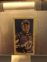 2009 Press Pass Pocket Portraits Kurt Busch Miller Lite Nascar