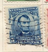 United States 1903 Early Issue Fine Used 5c. NW-97673