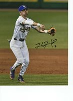 HAL HUGHES LSU TIGERS BASEBALL SIGNED 8X10 PHOTO W/COA